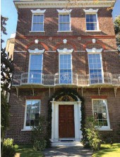 ??  ?? The elegant Nathaniel Russell House is now a museum