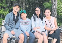 ?? REVA MAI ?? Reva Mai, second from right, says her parents are both essential workers, and Ontario's vaccine confusion has shone a light on the long-lived inequities of their Jane-Finch neighbourh­ood.