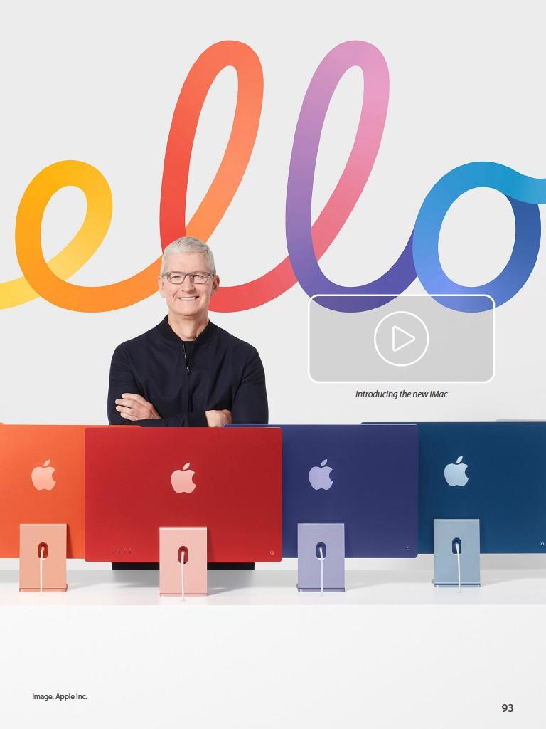 ??  ?? Image: Apple Inc. Introducing the new imac