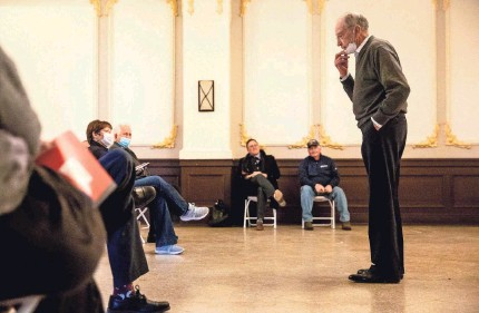 """?? KELSEY KREMER/USA TODAY NETWORK ?? Every year, Sen. Chuck Grassley, R-Iowa, sets out to visit 99 counties to meet with Iowans. He says he was shocked by the riot at the U.S. Capitol last week and kept asking himself, """"How can this be happening?"""""""