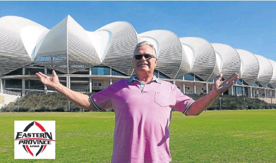 ?? PHOTOGRAPH: GEORGE BYRON ?? MY JOB HERE IS DONE: Former EP Rugby Union president Cheeky Watson was in a reflective mood at Nelson Mandela Bay Stadium this week when he handed in his resignation after eight years in the hot seat