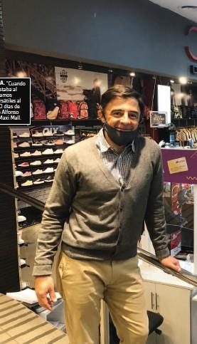 """??  ?? DIFERENCIA. """"Cuando el crédito estaba al 60%, colocamos pagarés bursátiles al 40% y a 120 días de plazo"""", dice Alfonso Cutilla, de Maxi Mall."""
