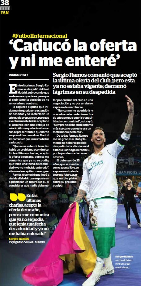 ??  ?? Sergio Ramos se convirtió en referente del madridismo.