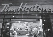 ??  ?? Tim Hortons is entering the lucrative specialty coffee market with new espresso-based beverages.