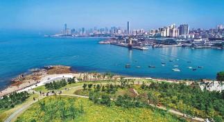 ?? Cnsphoto ?? 5 de junio de 2021. Qingdao, una ciudad costera de la provincia de Shandong, ha experimentado un gran desarrollo gracias a la política de Reforma y Apertura.