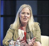 ?? Sait Serkan Gurbuz/The Associated Press ?? Like Texas, Canada has plenty of oil and natural gas wealth but is moving toward a lowercarbon future, says Canada's environment minister, Catherine McKenna.
