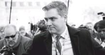 ?? ALEX WONG/GETTY IMAGES ?? CNN chief White House correspondent Jim Acosta.