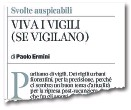 ??  ?? L'editoriale pubblicato domenica sul Corriere Fiorentino, a firma del direttore Paolo Ermini