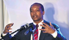 ??  ?? Patrice Motsepe, the founder and majority owner of African Rainbow Capital, has set his sights on getting more exposure to fintech. Photo: Elmond Jiyane/GCIS