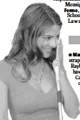 ?? BY GEDIYON KIFLE ?? Maria Menounos wipes away tears while lobbying for diabetes awareness at the Capitol.