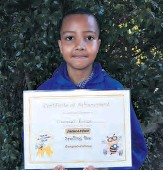 ??  ?? Emmanuel Ruscoe won the Zululand Spelling Bee competition