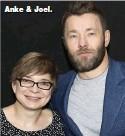 ??  ?? Anke & Joel.