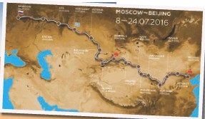 ??  ?? An epic route that not only out stretches, but should rival the great Dakar Rally.