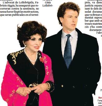 ??  ?? Fa set anys. La diva i l'empresari català, 34 anys més jove que ella, es van casar per poders el 2010