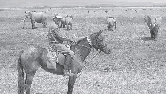 ?? OFFBEAT SAFARI ?? Rancher Tristan Voorspuy was killed by pastoral herders in central Kenya who have been invading large farms, some of which double as wildlife conservation areas.