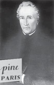 ??  ?? Жан-Антуан Лепин и его фирменный знак на часах