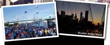 ??  ?? Brooklyn Bridge Sunset Philly