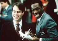 ??  ?? Dan Aykroyd and Eddie Murphy in Trading Places.