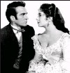 ?? AP ?? County visit: Again as a Southern belle, again with Montgomery Clift.