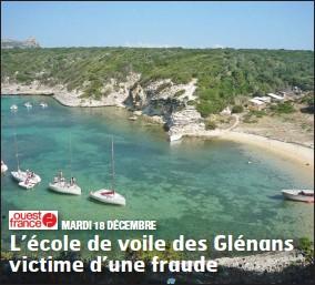L Ecole De Voile Des Glenans Victime D Une Fraude Pressreader