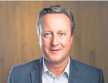 ??  ?? Former Conservative prime minister David Cameron.