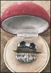 ??  ?? PRECIOUS The rings that were stolen from the couple last week - the third time they have been burgled in four year