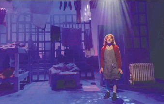 ??  ?? Storybook Theatre's online production of Annie runs until Jan. 17.