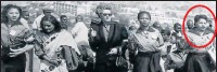 ??  ?? HISTORIC MARCH: ANC veteran Lillian Diedericks, right, was part of the 1956 march by more than 20 000 women to the Union Buildings. She was joined by, from left, Sophie Williams, Rahima Moosa, Helen Joseph and Lillian Ngoyi