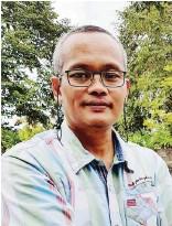 ??  ?? Salic Ibrahim, a leader of non-government organization called Maranao People Development Center (MARADECA).
