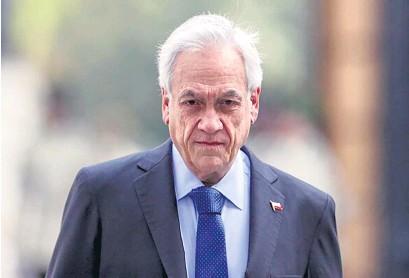 """?? AFP ?? Piñera anunció que modificará la actual ley antiterrorista para hacerla """"más eficaz""""."""