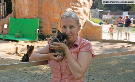 ?? FOTO: JAROSLAV JANKOVIČ ?? Irena Furlan