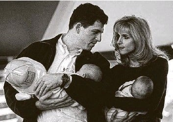 ?? Austin American-Statesman file photo ?? Michael Dell, who grew up in Houston, lives with his wife Susan in Austin. They have four children.