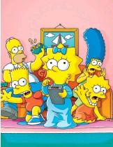 ?? CORTESÍA STAR+ ?? Los Simpson son su carta maestra