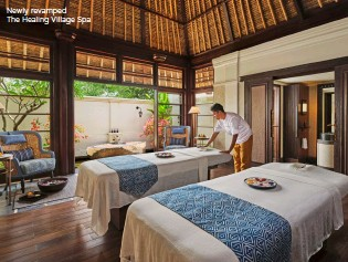 ??  ?? Newly revamped The Healing Village Spa