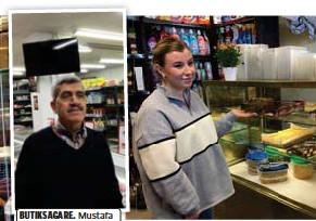 ?? FOTO: TOMAS STARK FOTO: TOMAS STARK ?? BUTIKSÄGARE. Mustafa Arnaoat har haft Nardeens Livs i två år. POLSKA GODSAKER. Monika Kwiatkowskas familj har haft butiken vid Malmparken i fyra år.