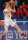 ?? SUBMITTED PHOTO ?? Stoney Creek's Kaillie Hall competes in the FIBA America's under-16 basketball championship in Argentina.