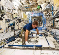 ?? Photo d'archives MaxPPP ?? La seconde mission de Thomas Pesquet, « Alpha », s'annonce chargée, avec une centaine d'expériences au programme.