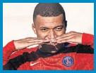 ??  ?? Mbappé, con el PSG.