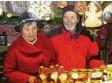 """?? Archivfoto: Krogull ?? Gerlinde und Gustav Scholz auf dem """"Friedberger Advent""""."""