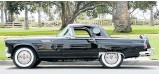 ?? Picture: Courtesy Julien's Auctions ?? Marilyn Monroe's 1956 Ford Thunderbird convertible is being auctioned off in November.