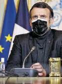 ??  ?? Emmanuel Macron.