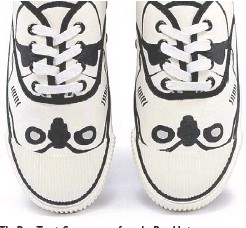 ??  ?? The Bata Tennis Stormtrooper from the Bata Heritage limited-edition capsule collection