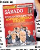 ??  ?? ALVO. Luís Filipe Vieira foi detido para prestar declarações