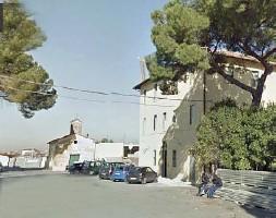 ?? (foto Proto) ?? Allarme Il centro d'accoglienza Sprar della cooperativa Eta Beta a Rocca Cencia, occupato ieri sera dagli ospiti