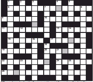 ??  ?? FOR your chance to win, solve the crossword to reveal the word reading down the shaded boxes. HOW TO ENTER: Call 0901 293 6233 and leave today's answer and your details, or TEXT 65700 with the word CRYPTIC, your answer and your name. Texts and calls cost £1 plus standard network charges. Or enter by post by sending completed crossword to Daily Mail Prize Crossword 16,663, PO Box 28, Colchester, Essex CO2 8GF. Please include your name and address. One weekly winner chosen from all correct daily entries received between 00.01 Monday and 23.59 Friday. Postal entries must be date-stamped no later than the following day to qualify. Calls/texts must be received by 23.59; answers change at 00.01. UK residents aged 18+, exc NI. Terms apply, see Page 62.