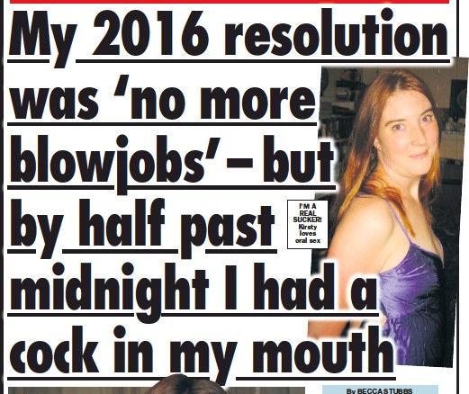 Im Not Making Any Resolutions This Year Its Unfair To Deprive Myself And Blokes Would Definitely Miss My Mouth