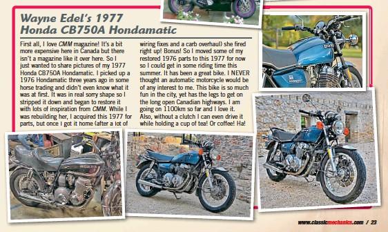 Pressreader Classic Motorcycle Mechanics 2017 12 18 Wayne