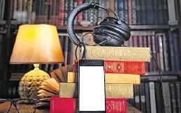 ??  ?? Para poder disfrutar de los audiolibros se debe descargar la aplicación gratuita Audiolector y leer con el celular los códigos QR en el periódico.