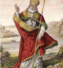 ??  ?? St Patrick's name was popular among Irish migrants