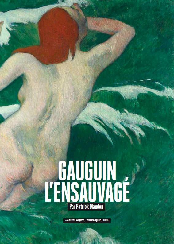 ??  ?? Dans les vagues, Paul Gauguin, 1889.